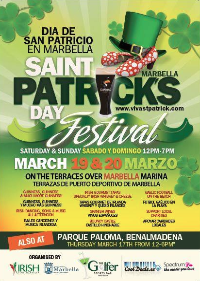 Paddys day Marbella 2016