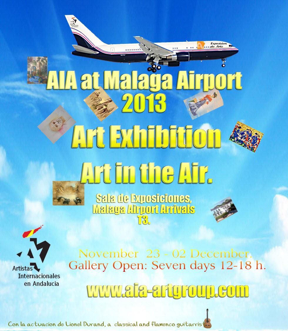 AIA at Malaga Airport 2013