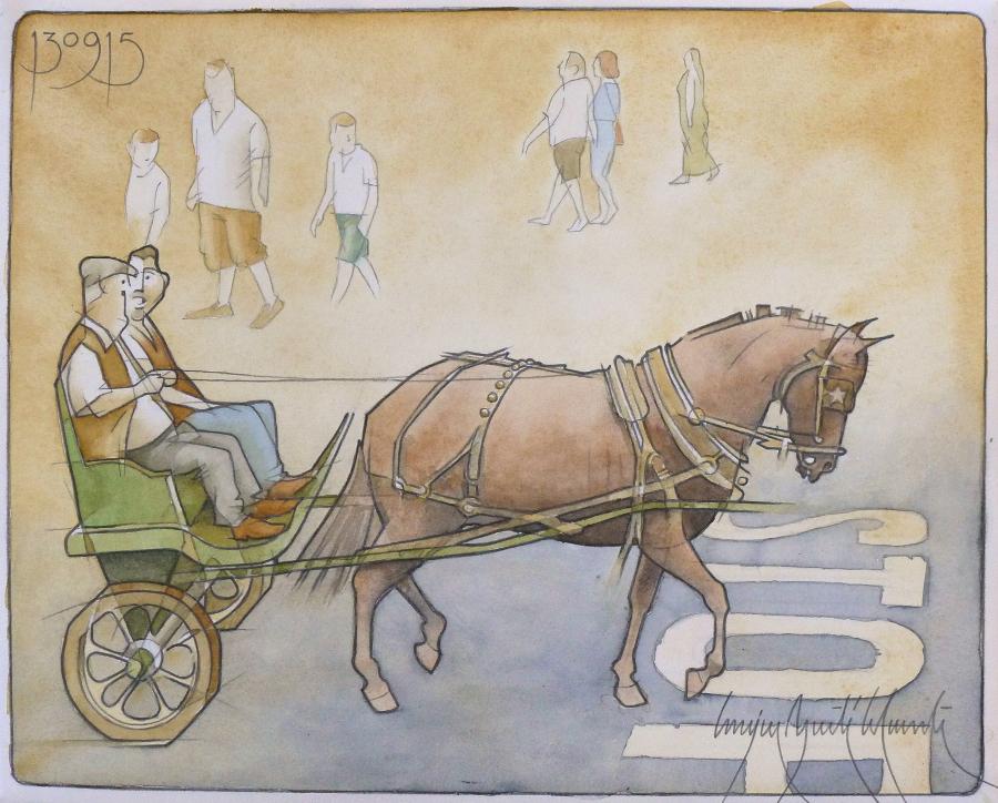Horse 41x33