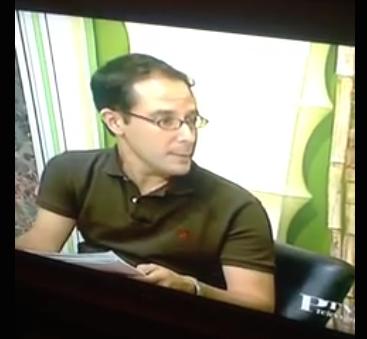 Diego Banderas Presentador PTV Malaga
