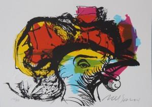2. Nelson Dominguez -16 x 11.5 cm. 6.25 x 4.5 Paloma. 12:50