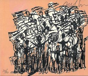 Nelson Dominguez - manifestación popular (popular demonstration)