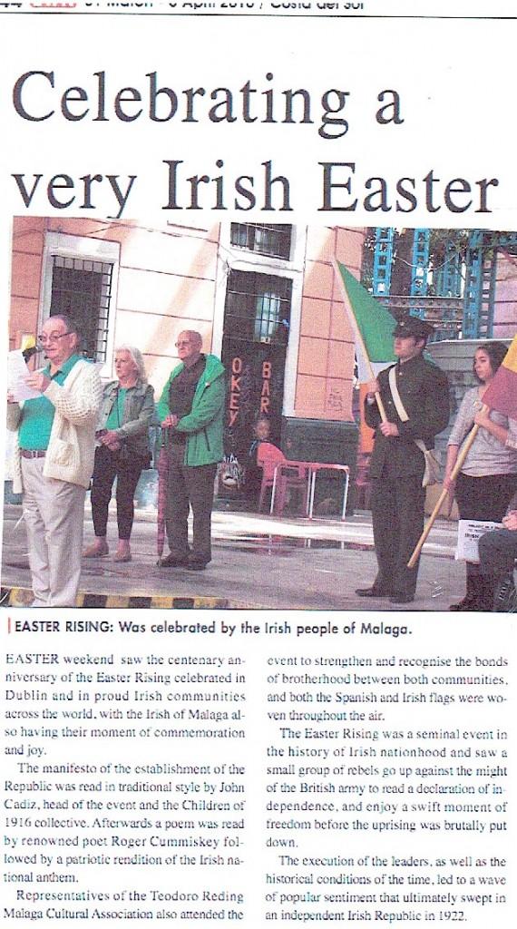 EWN irish celebrate