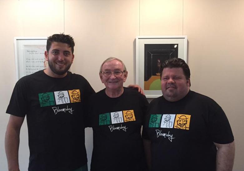 Alvaro, Roger y Mr Rohs